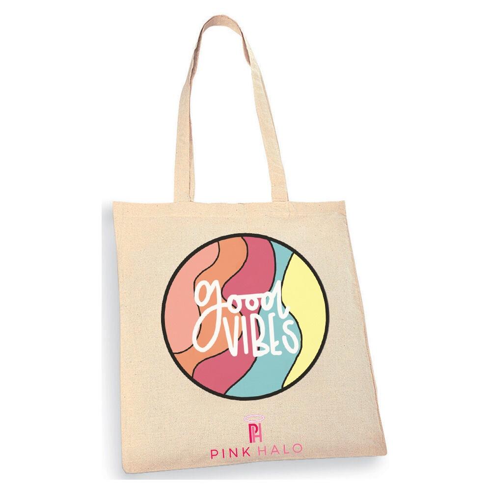 Eco – Good Vibes Tote Bag Kind Shop