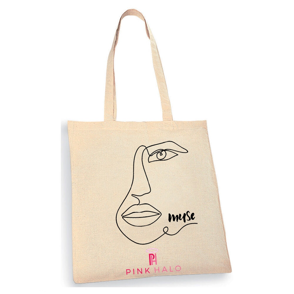 Eco- Muse Tote Shopping Bag Kind Shop