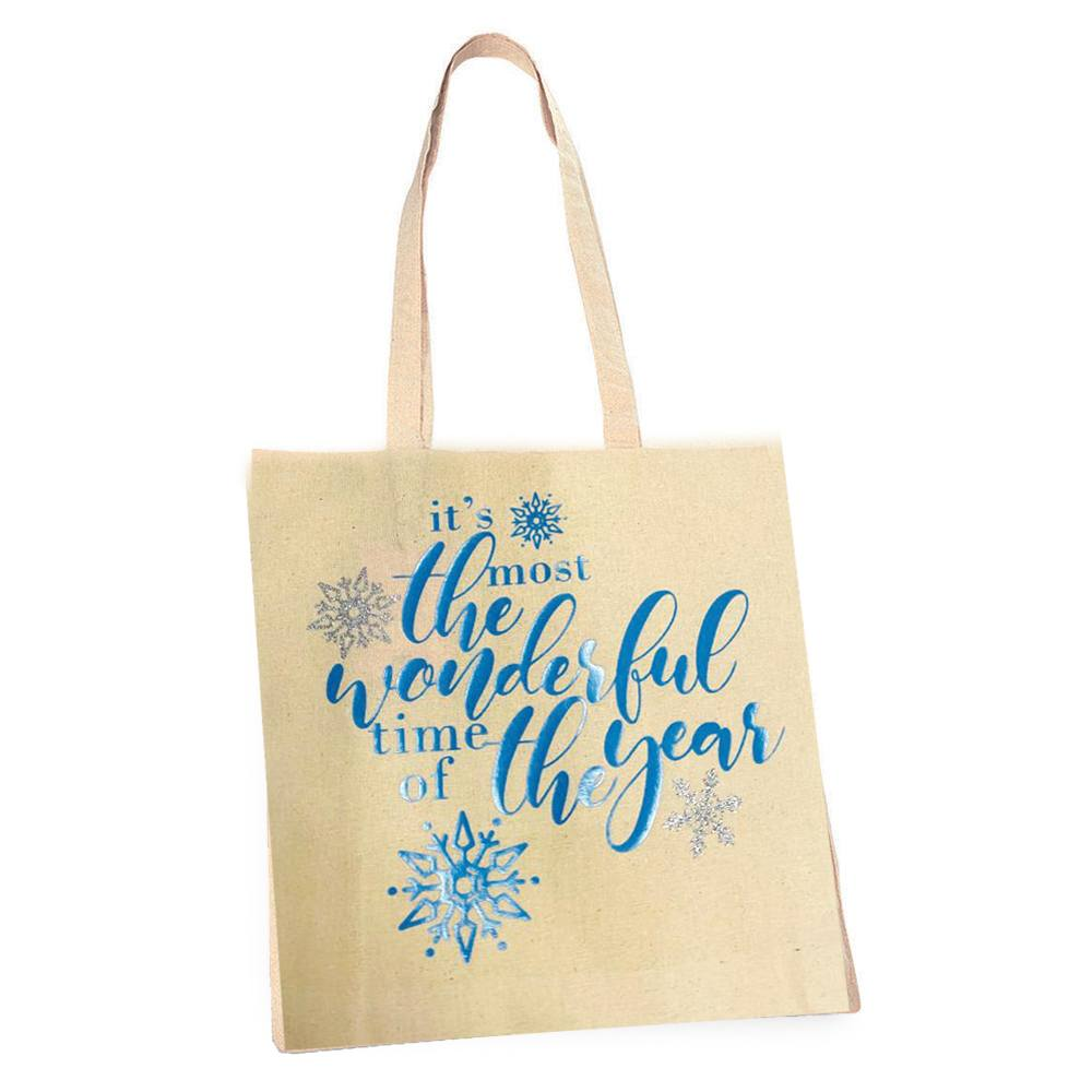 Eco – Festive 'It's the Most Wonderful Time' Tote Bag Kind Shop