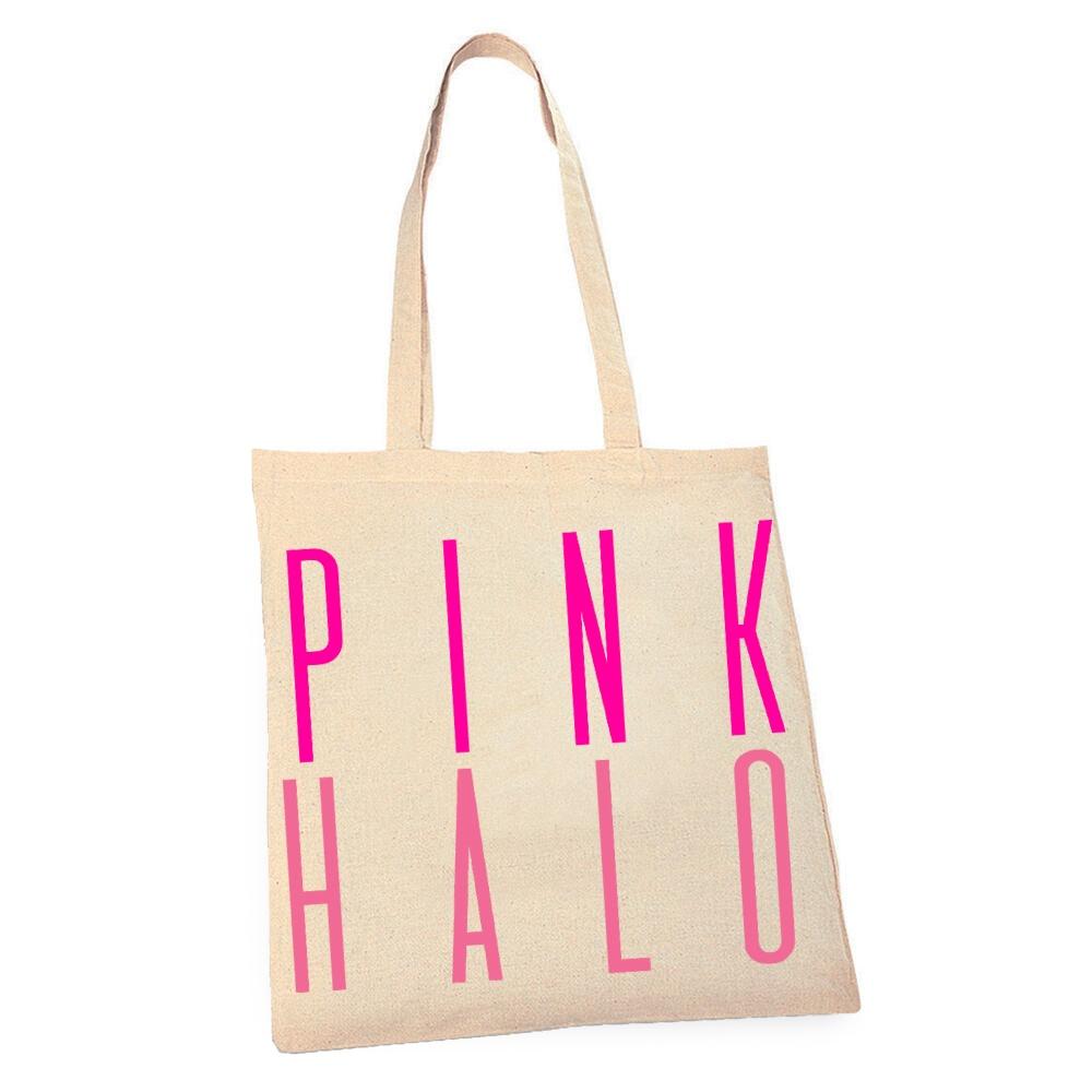 Eco – Pink Halo Tote Bag Kind Shop