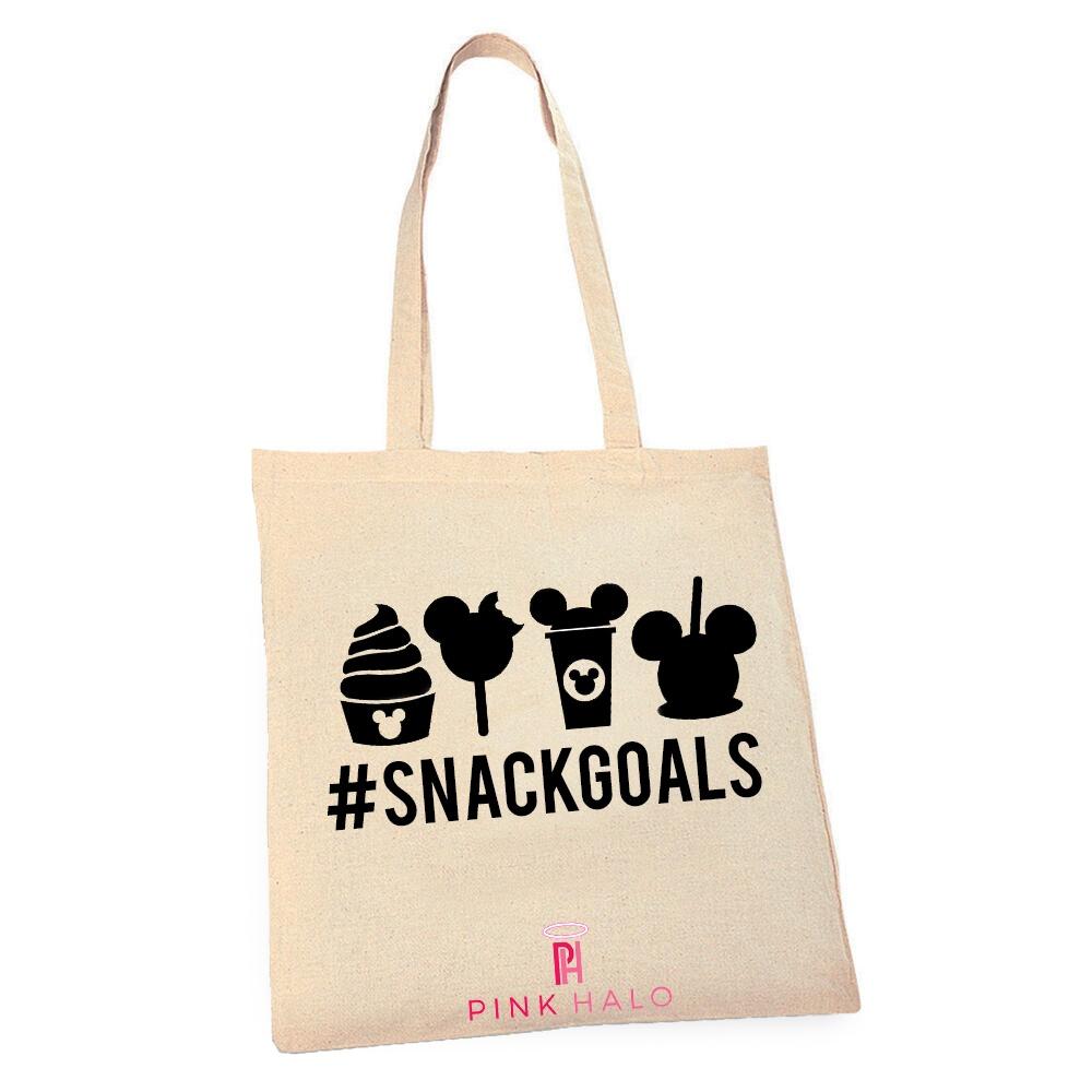 Eco- Snack Goals Tote Bag Kind Shop