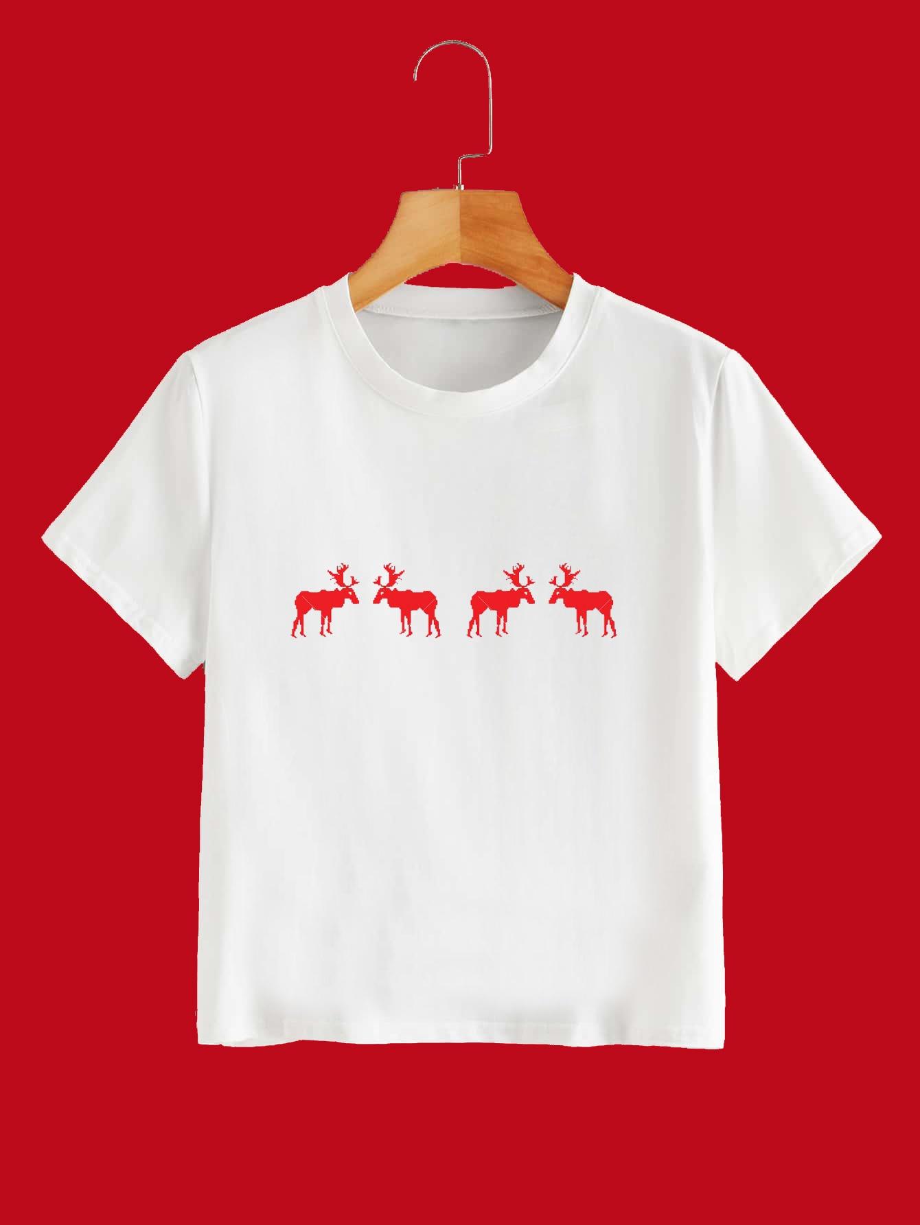 Reindeer Tee Kind Shop