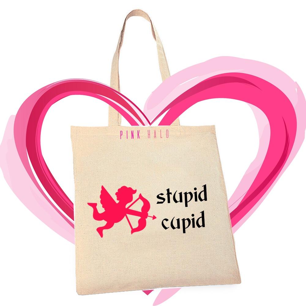 Eco – Stupid Cupid Tote Bag Kind Shop