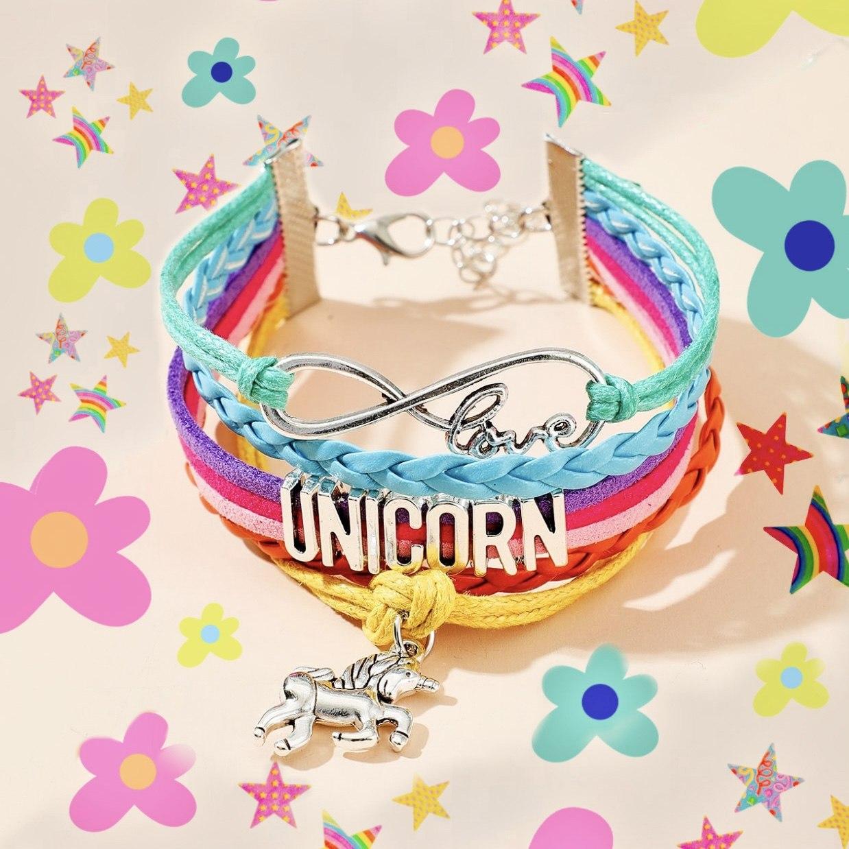 Unicorn Layered Bracelet Kind Shop