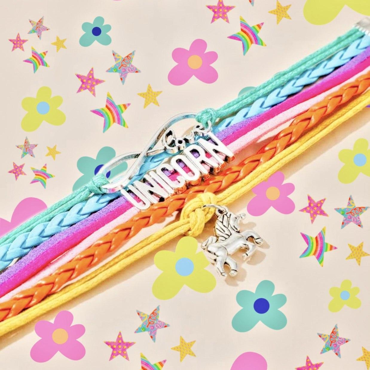 Unicorn Layered Bracelet Kind Shop 2