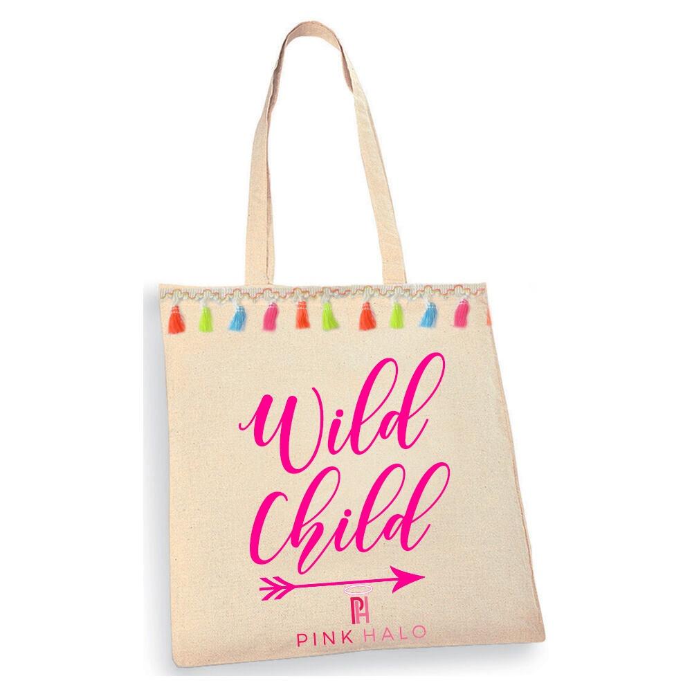 Eco – Wild Child Tote Bag Kind Shop