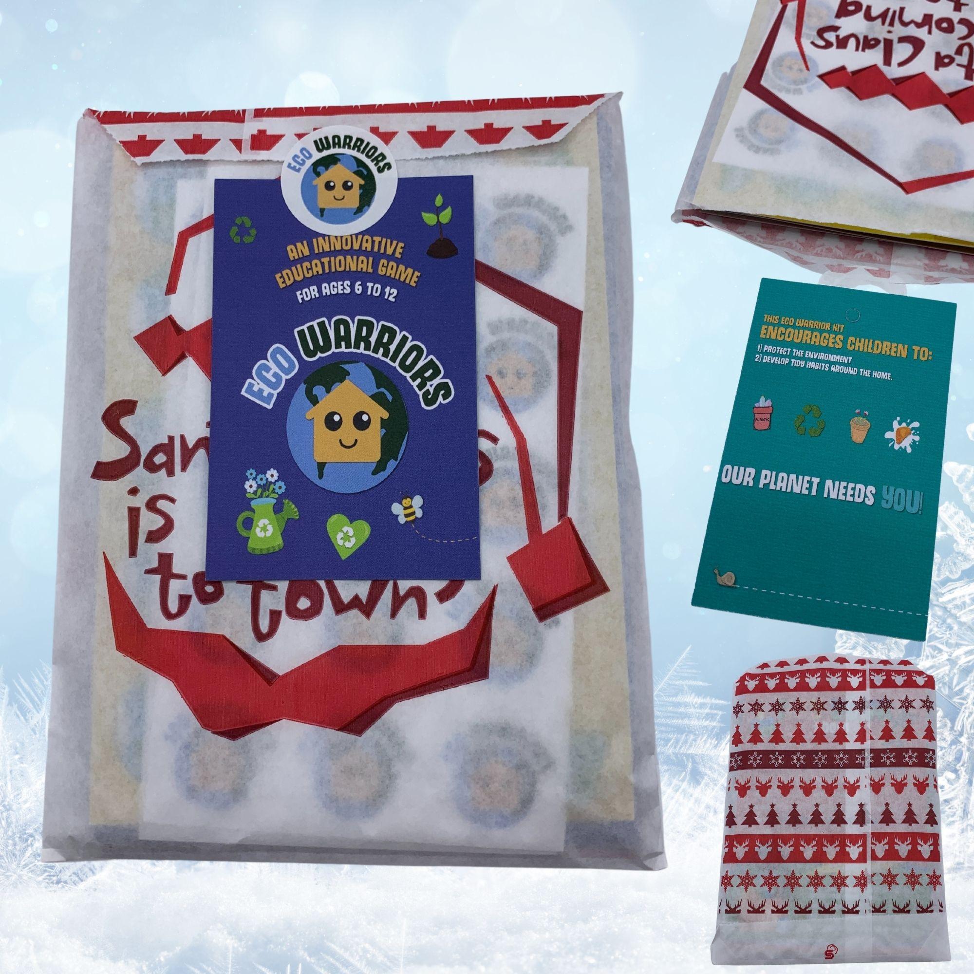 Eco Warriors Flash Cards – Christmas Edition Kind Shop 3