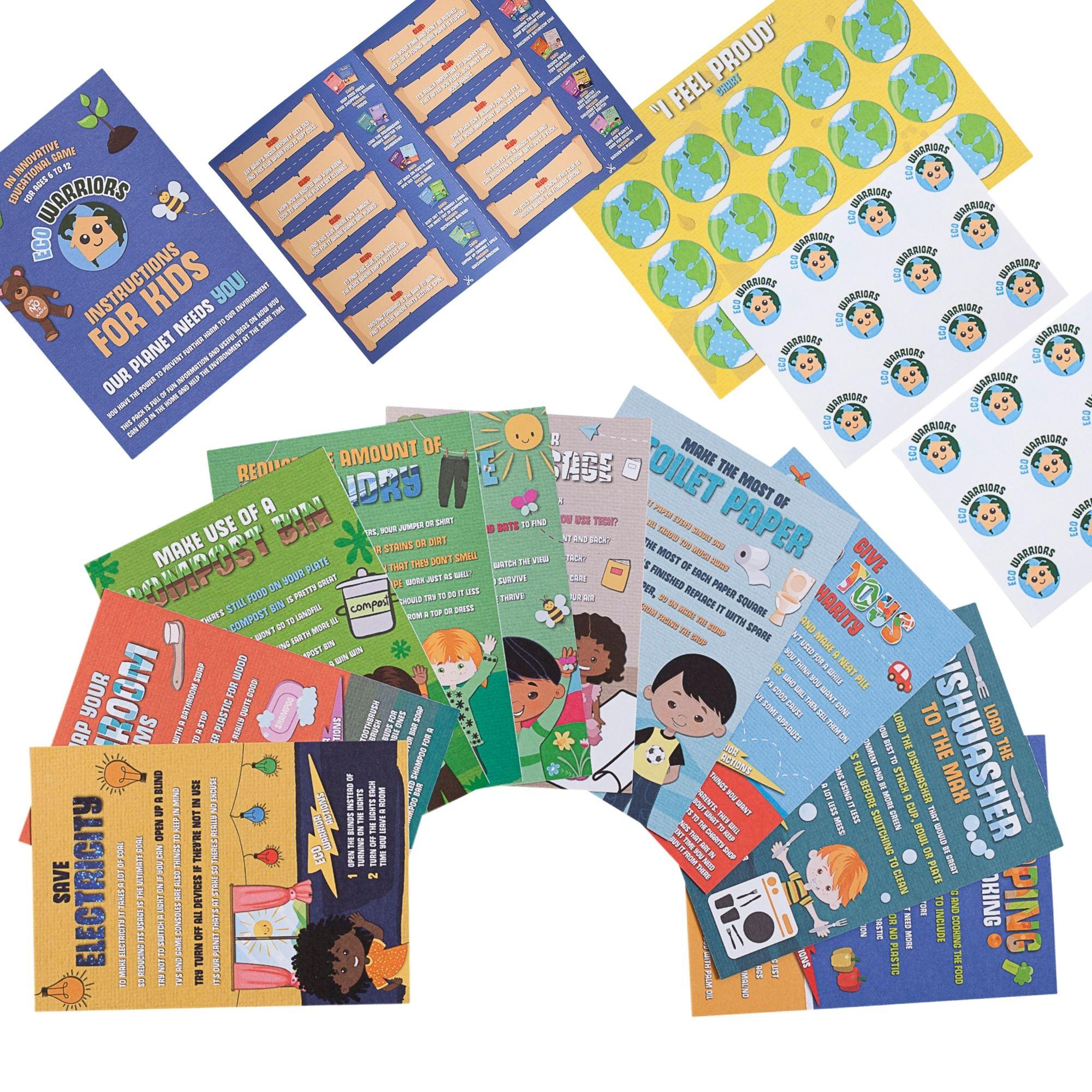 Eco Warriors Flash Cards – Christmas Edition Kind Shop 2