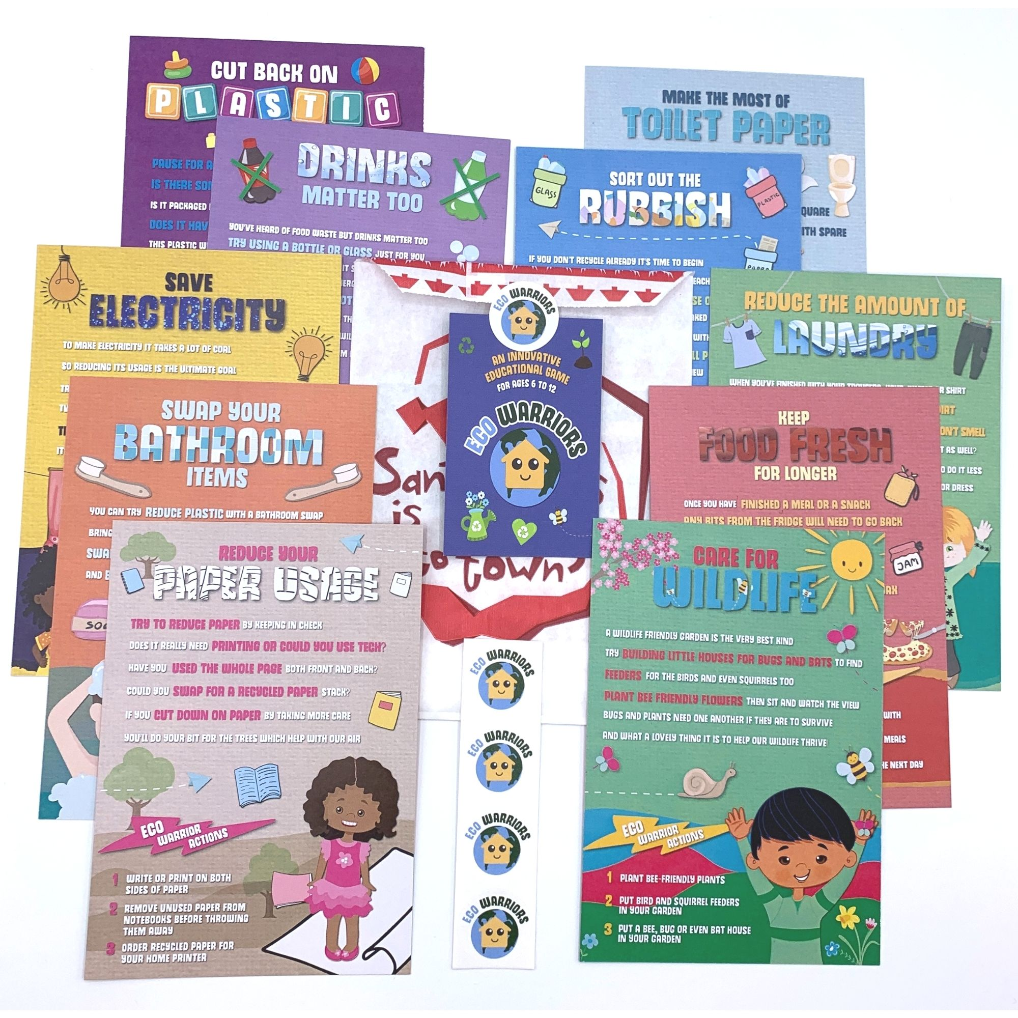 Eco Warriors Stocking Filler Card Game (Small Pack) – Christmas Eve Box Activity Kind Shop 2