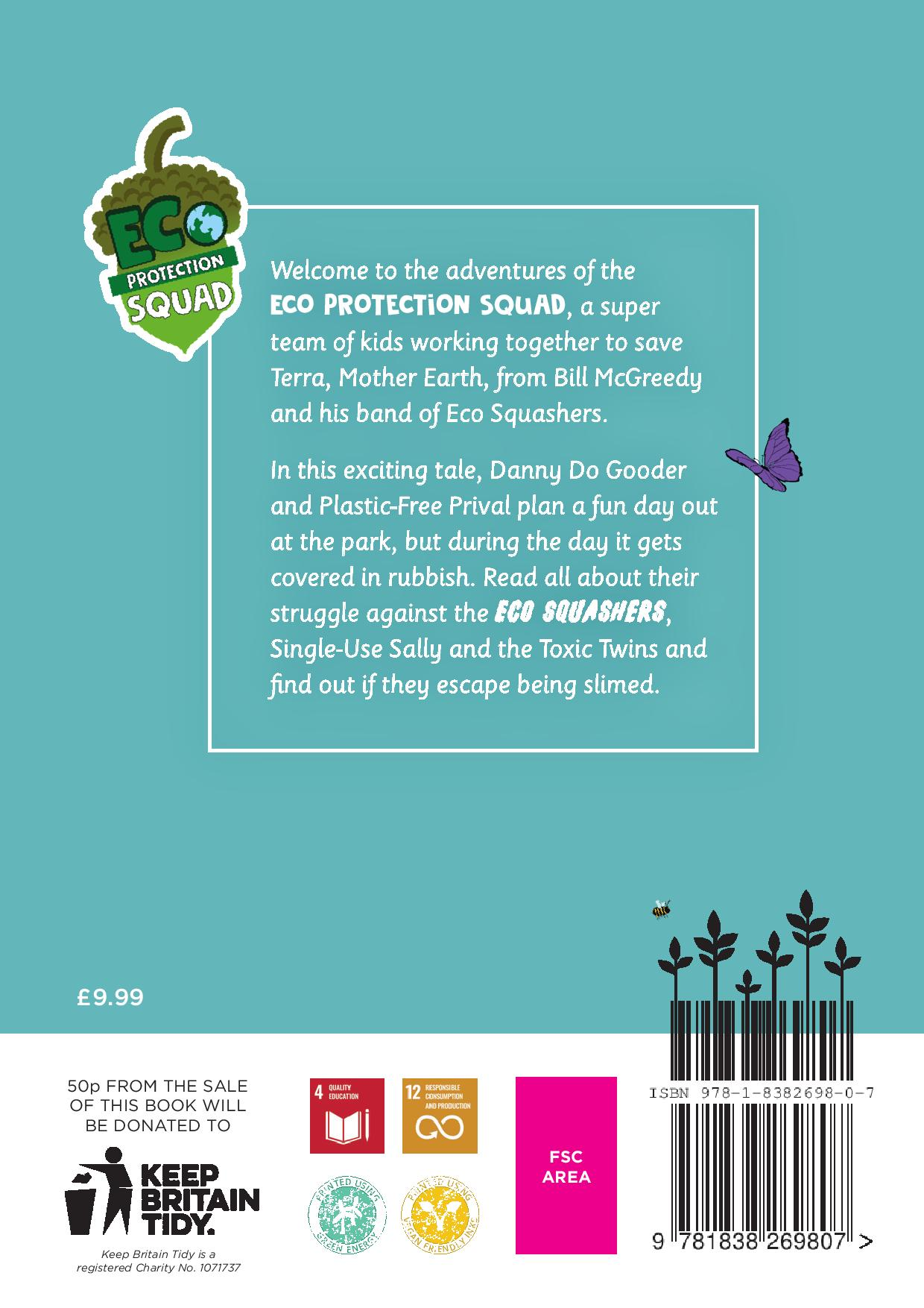 Eco Friendly Children's Book Litter Pick Activity – Eco Protection Squad Go To The Park Kind Shop 10