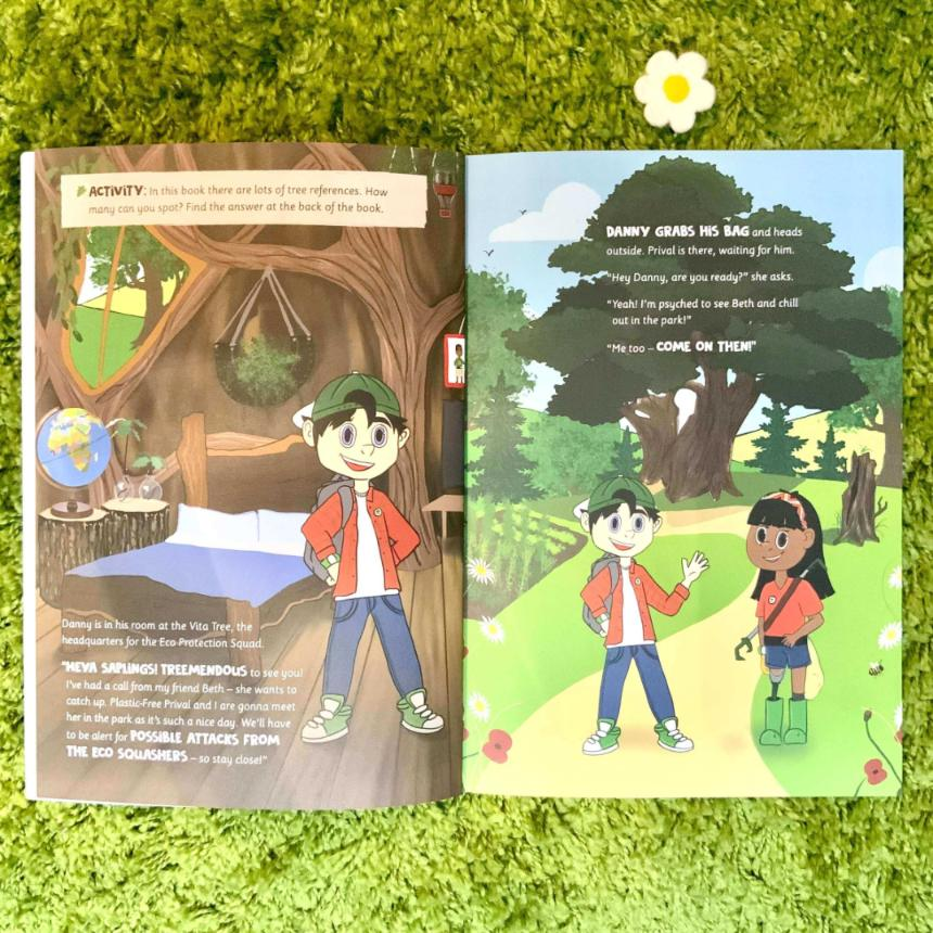 Eco Protection Squad Activity Book Litterpicking