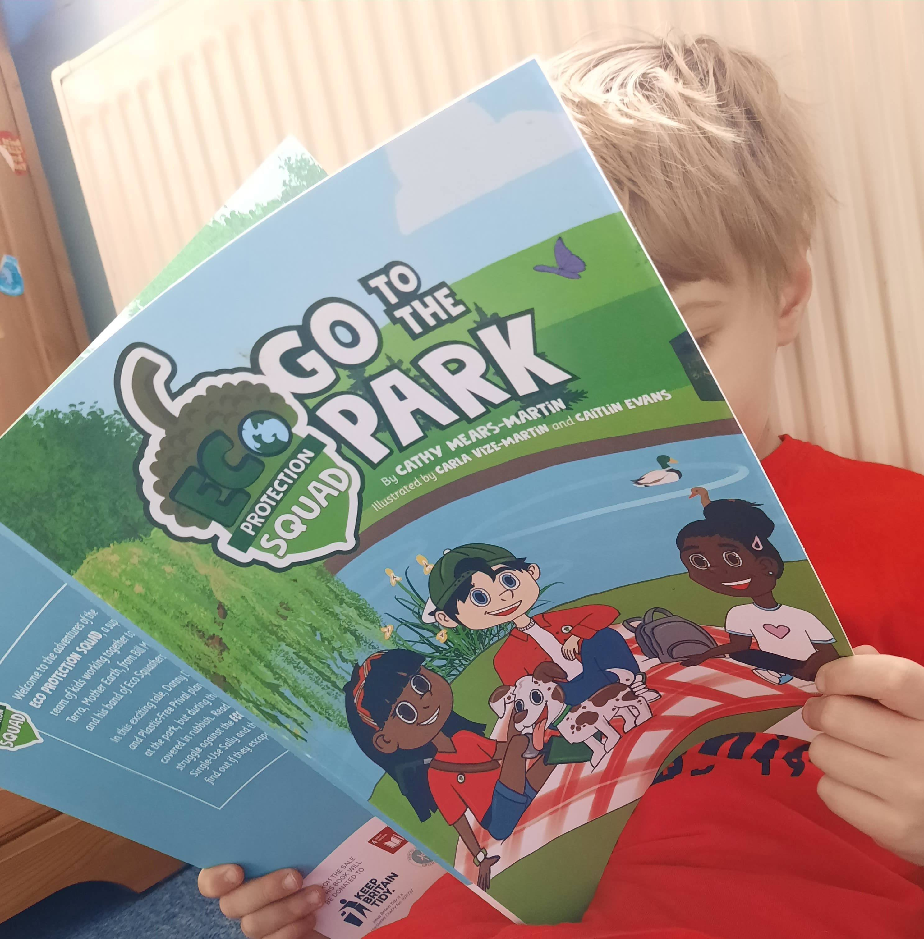 Eco Friendly Children's Book Litter Pick Activity – Eco Protection Squad Go To The Park Kind Shop 2