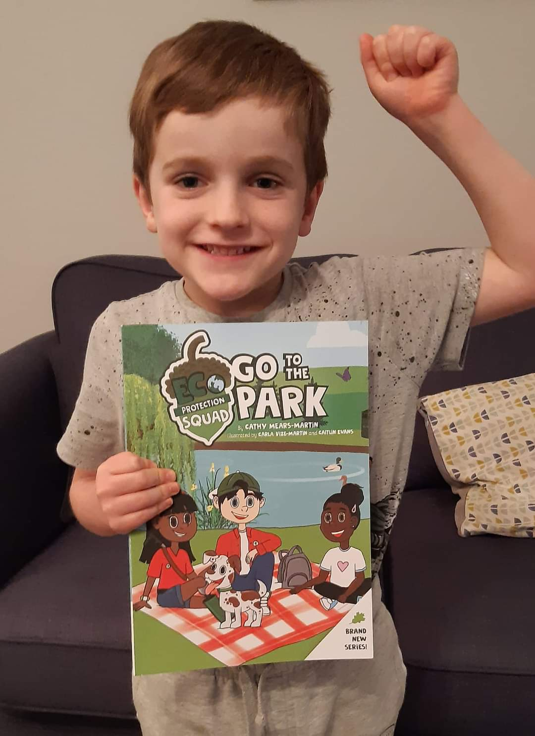 Eco Friendly Children's Book Litter Pick Activity – Eco Protection Squad Go To The Park Kind Shop 14