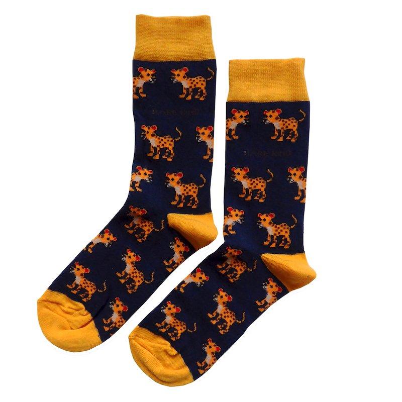 'Save the Amur Leopards' Bamboo Socks Kind Shop