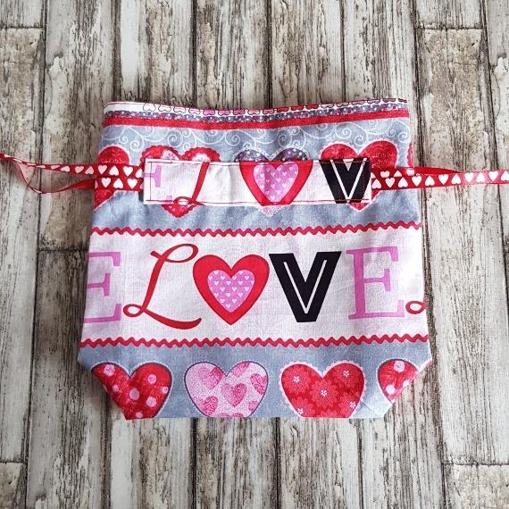 Eco Friendly Reusable Drawstring Gift Bag / Storage Bag | Love And Hearts Kind Shop 4