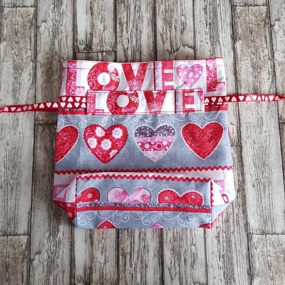 Eco Friendly Reusable Drawstring Gift Bag / Storage Bag | Love And Hearts Kind Shop 5