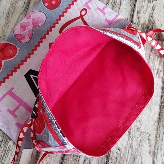 Eco Friendly Reusable Drawstring Gift Bag / Storage Bag | Love And Hearts Kind Shop 7