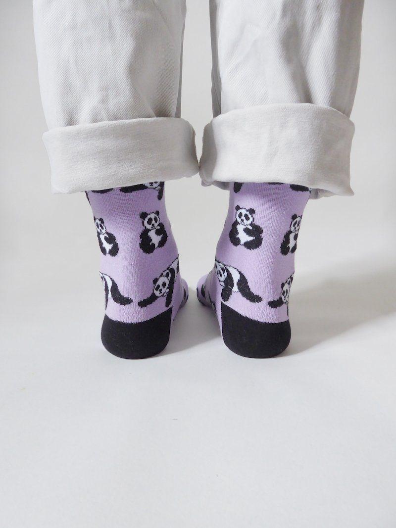 Panda bamboo socks