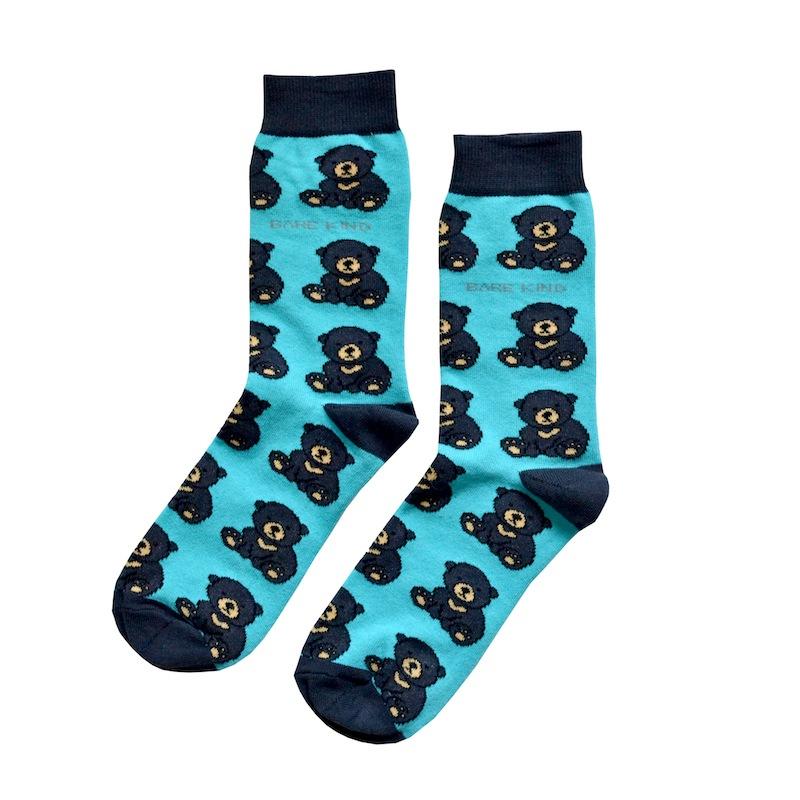 Save Bears Socks Teddy bear