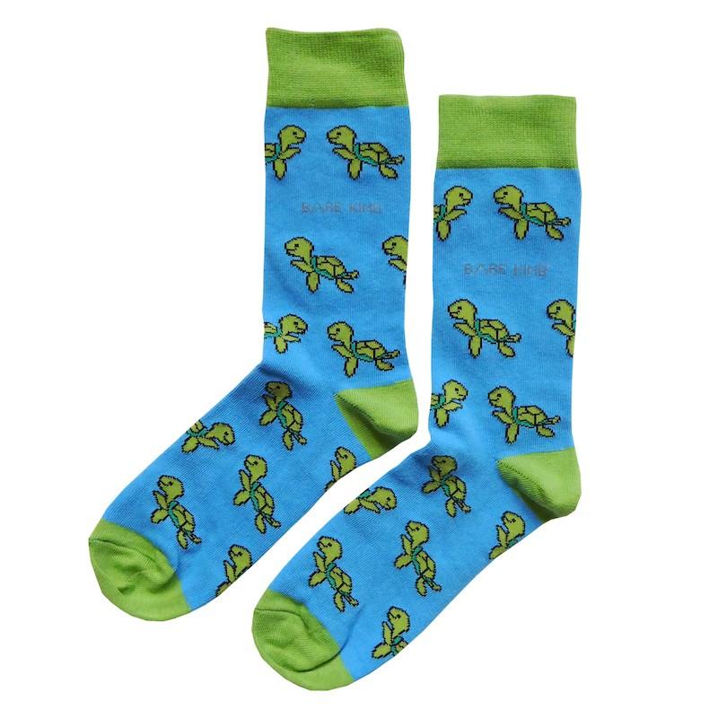 'Save the Turtles' Bamboo Socks Kind Shop