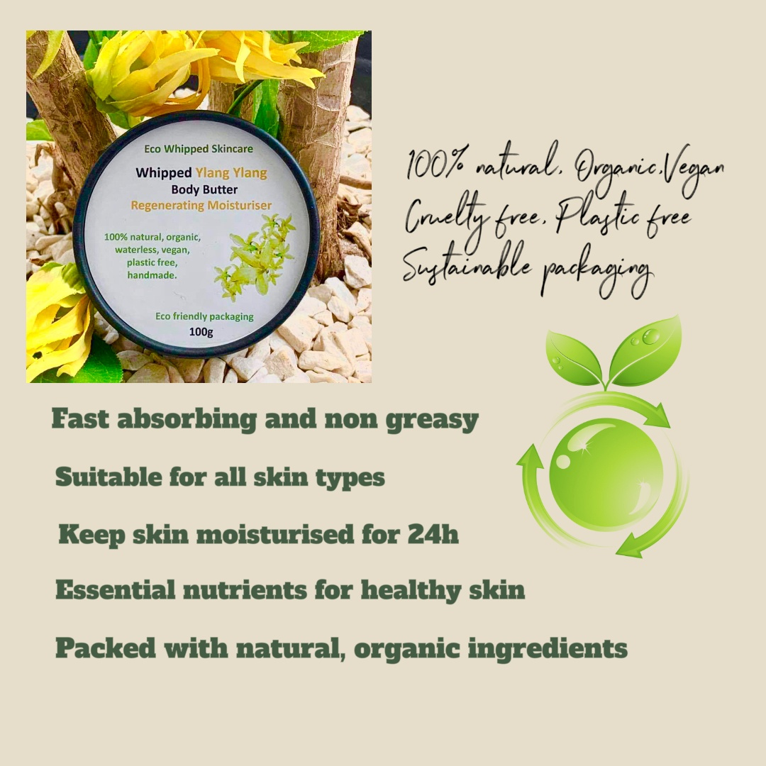 Whipped Ylang Ylang Regenerating Body Butter Kind Shop 5