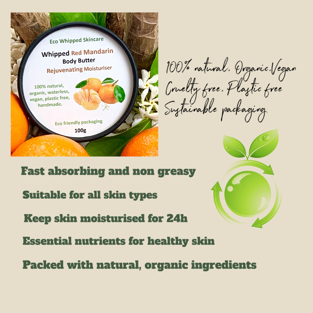 Whipped Red Mandarin Rejuvenating Body Butter Kind Shop 3