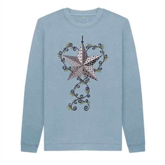Christmas Star Children's Sustainable Christmas Jumper – Organic Cotton Kind Shop 4