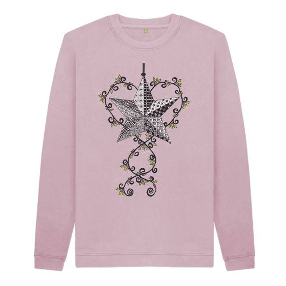 Christmas Star Children's Sustainable Christmas Jumper – Organic Cotton Kind Shop 5