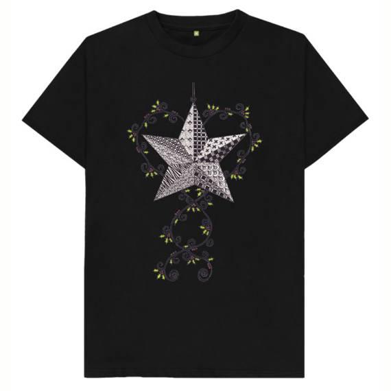 Christmas Star Children's Sustainable Christmas T Shirt – Organic Cotton Kind Shop 2