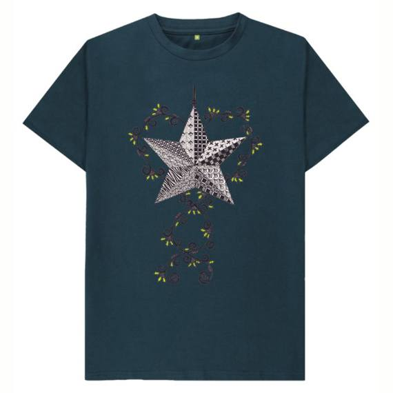 Christmas Star Children's Sustainable Christmas T Shirt – Organic Cotton Kind Shop 3
