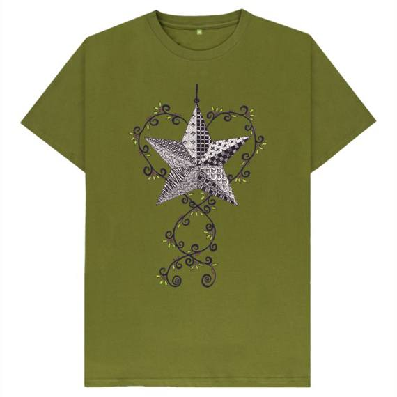 Christmas Star Children's Sustainable Christmas T Shirt – Organic Cotton Kind Shop 4