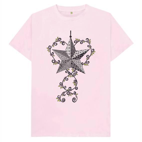 Christmas Star Children's Sustainable Christmas T Shirt – Organic Cotton Kind Shop 5