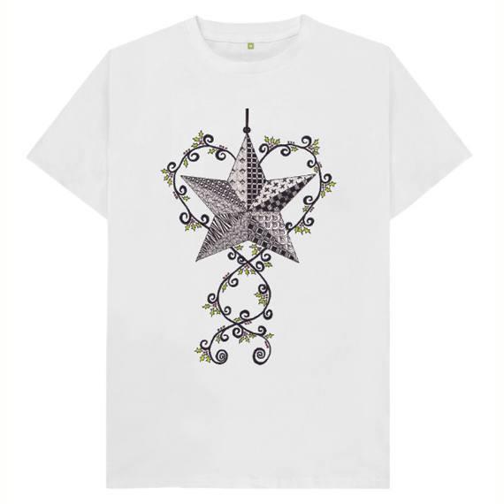 Christmas Star Children's Sustainable Christmas T Shirt – Organic Cotton Kind Shop 6