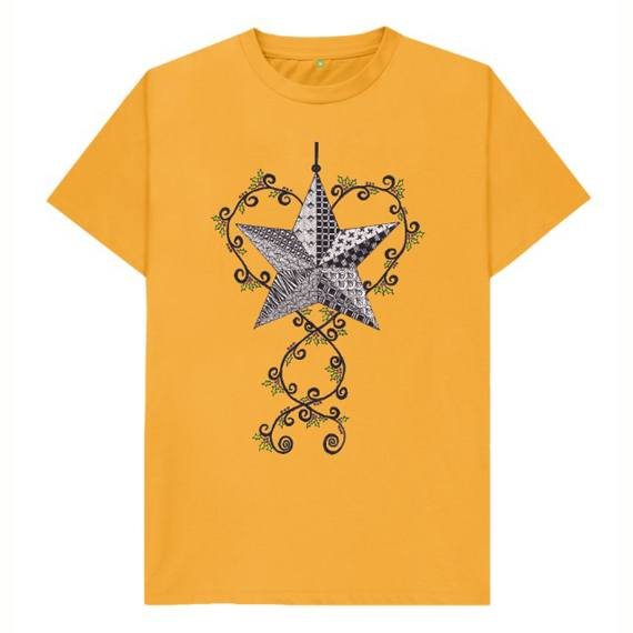Christmas Star Children's Sustainable Christmas T Shirt – Organic Cotton Kind Shop 7