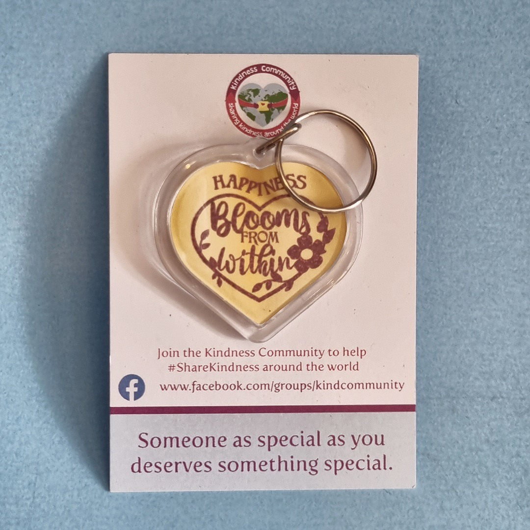 Happiness themed Kindness Kit. Positivity gift care package. Letterbox gift Kind Shop 5
