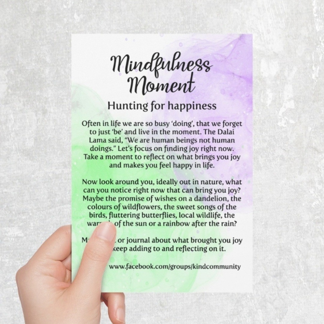 Happiness themed Kindness Kit. Positivity gift care package. Letterbox gift Kind Shop 7