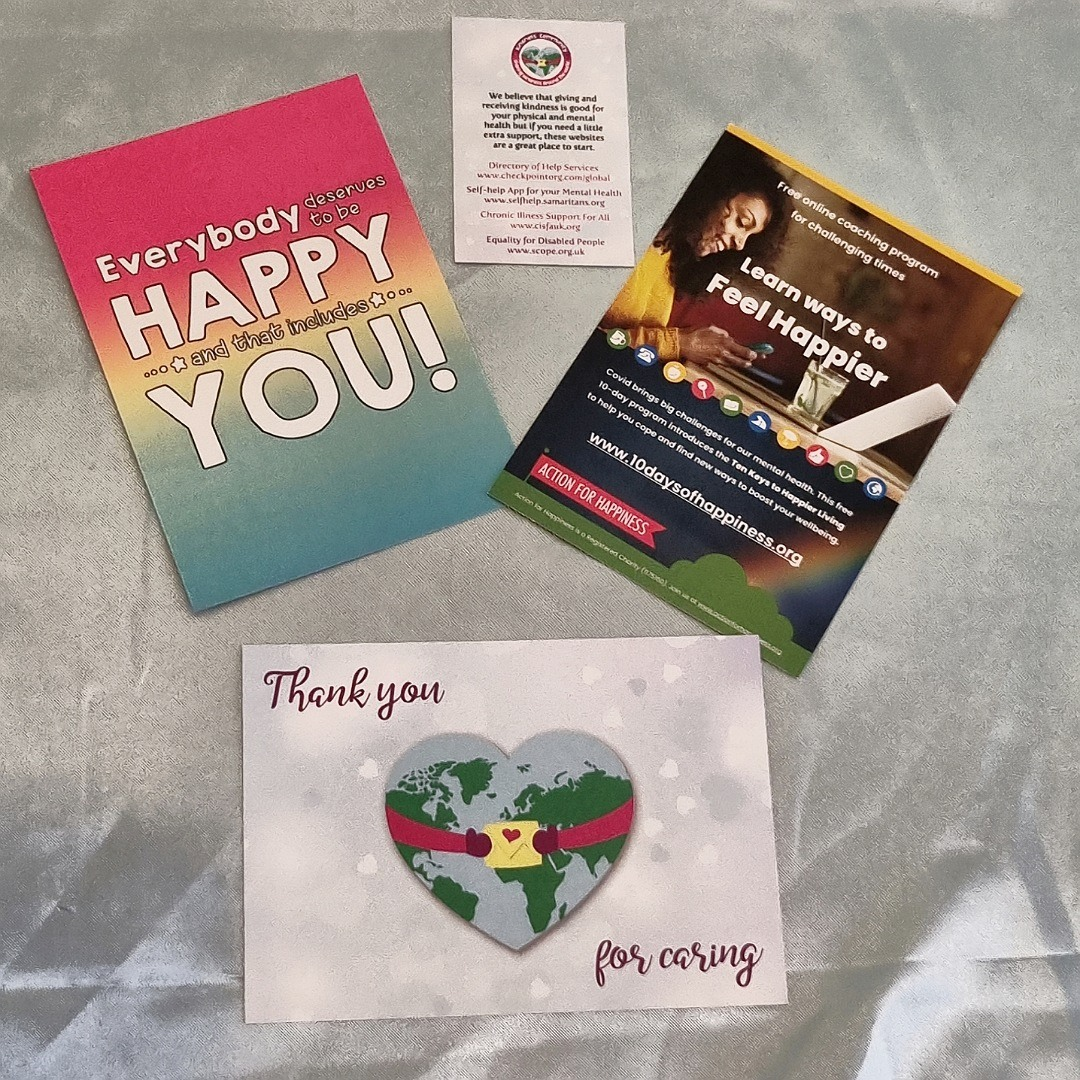 Happiness themed Kindness Kit. Positivity gift care package. Letterbox gift Kind Shop 11