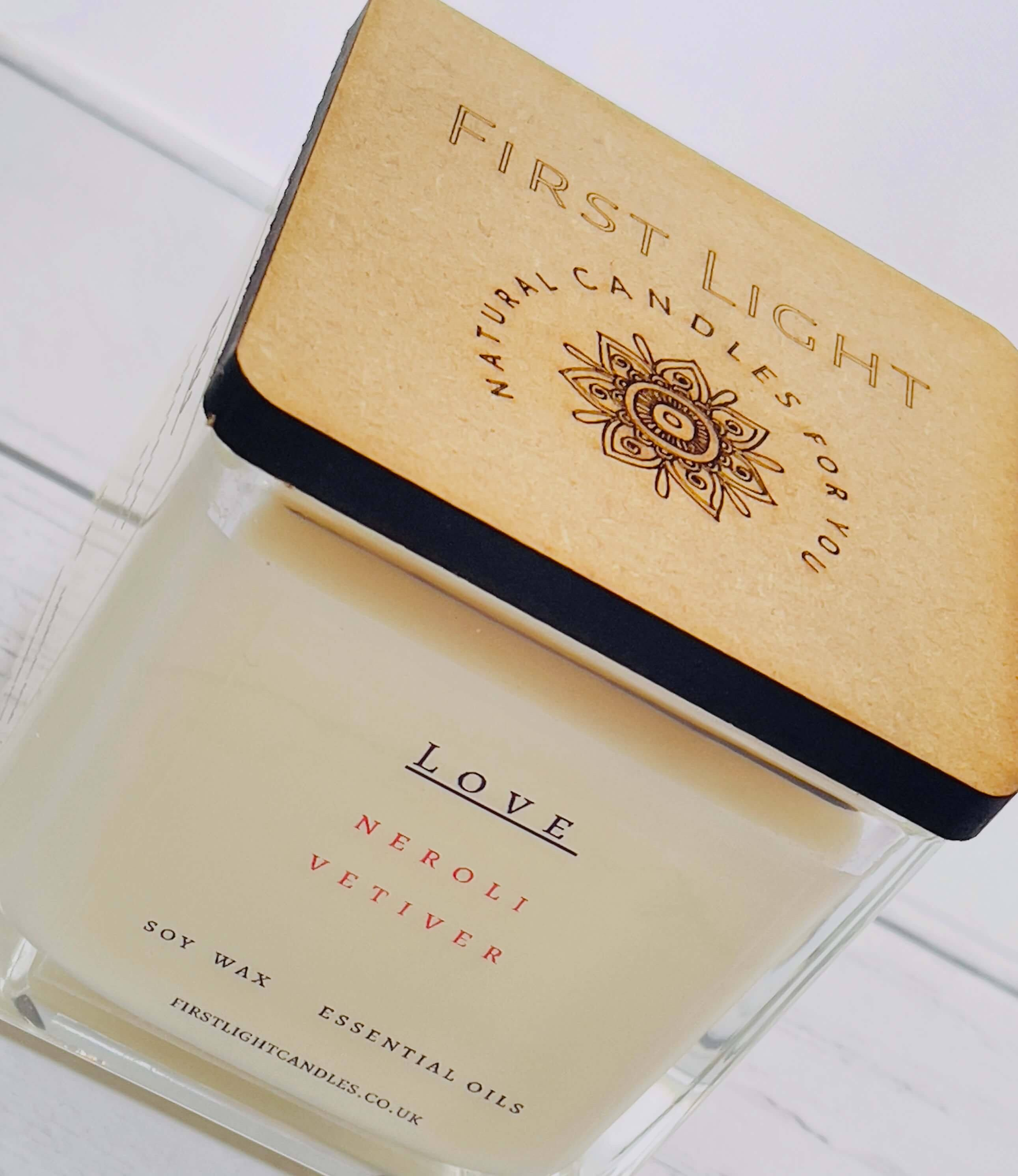 Vegan Soy Candle with Neroli and Vetiver. Double Wick Kind Shop 2