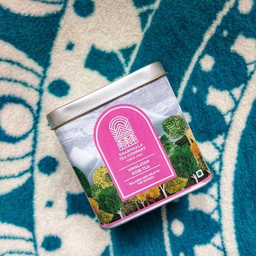 Darvaza Teas Himalayan Rose Black Tea Tin