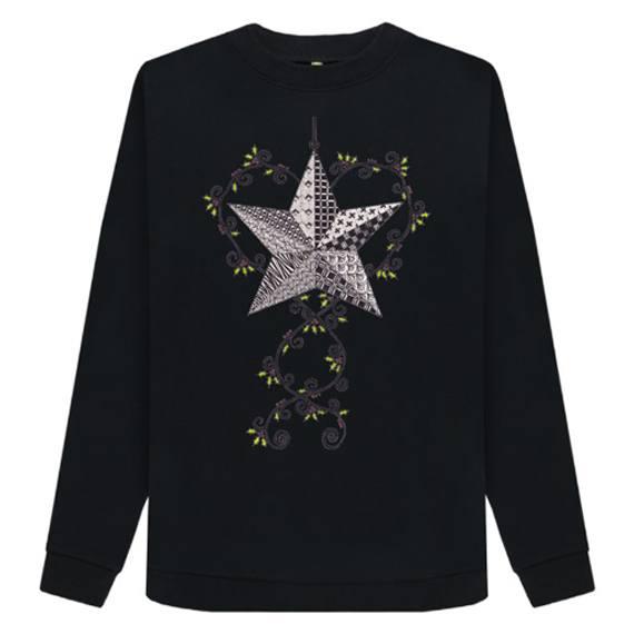 Christmas Star Women's Sustainable Christmas Jumper – Organic Cotton Kind Shop 2
