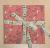 Easter Reusable Fabric Gift Wrap (Pink Bunnies)