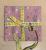 Easter Reusable Fabric Gift Wrap (Purple Bunnies)
