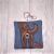 Labrador Retriever Eco Plastic Free Dog Poo Bag Holder – chocolate