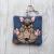 French Bulldog Eco Plastic Free Dog Poo Bag Holder – Fawn