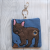 French Bulldog Eco Plastic Free Dog Poo Bag Holder – Chocolate