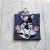 French Bulldog Eco Plastic Free Dog Poo Bag Holder – Black and White