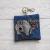 Pug Eco Plastic Free Dog Poo Bag Holder – grey/blue