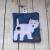 West Highland Terrier Eco Plastic Free Dog Poo Bag Holder